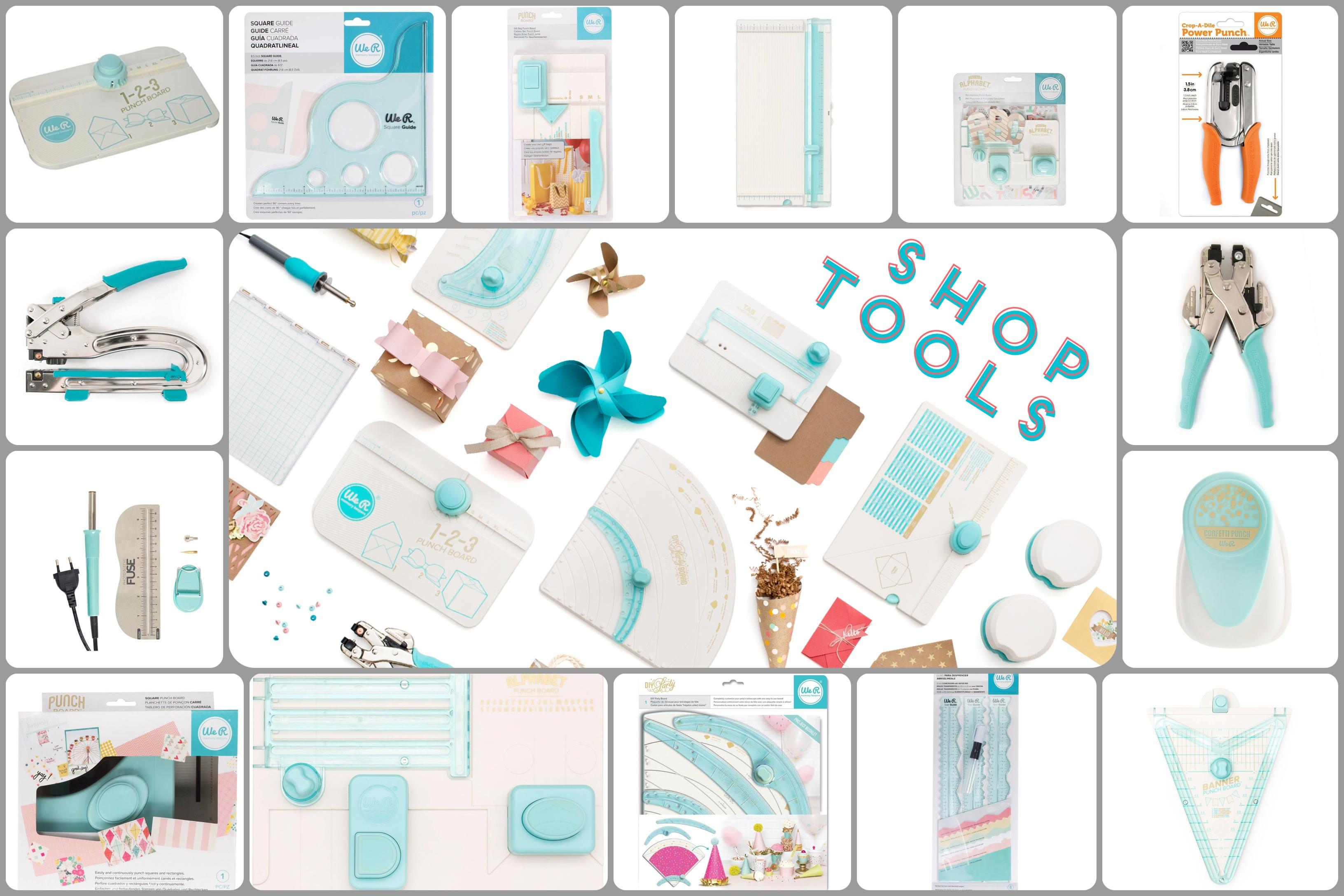 1000 δυο Εργαλεία χειροτεχνίας για Crafters: We R Memory Keepers από την Papercraft!